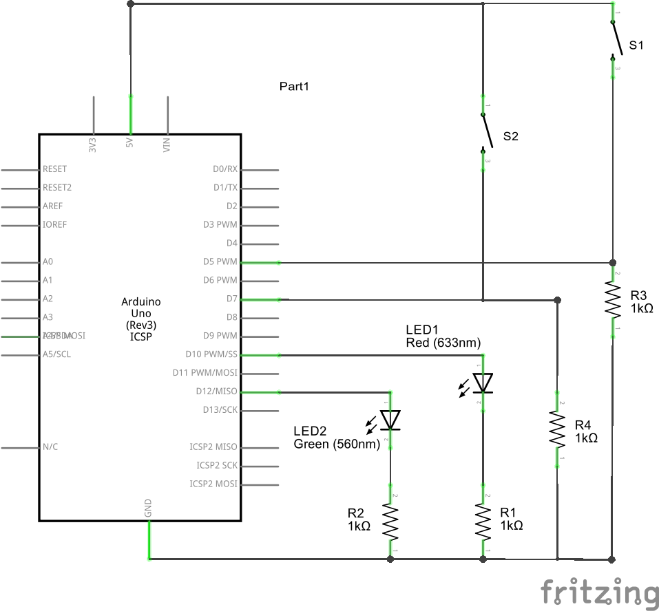 How To Build A Half Adder Using Arduino Balestratify Uno Wiring Diagram The Complete Circuit Click Enlarge